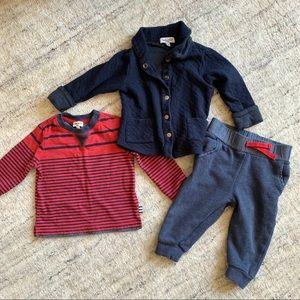 Splendid Baby Boy outfit (pants, jacket, shirt)